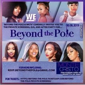 Beyond The Pole Screening Graphic - Gwen's Business Corner